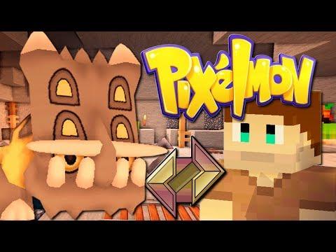 PIXELMON (Pokémon Minecraft) #9 STEIN ARENA BATTLE! (Steinorden)