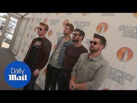 Irish Band Kodaline Arrive At Isle Of Wight Festival