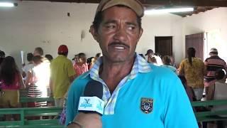 """Presidente da Associação de comunidade de Ipanema em Alto Santo Expedito Manuel se diz feliz pela realização do programa """"fomento mulher""""."""