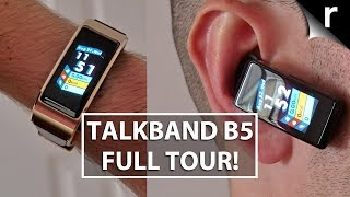 Huawei Talkband B5 Unboxing | Full features tour!