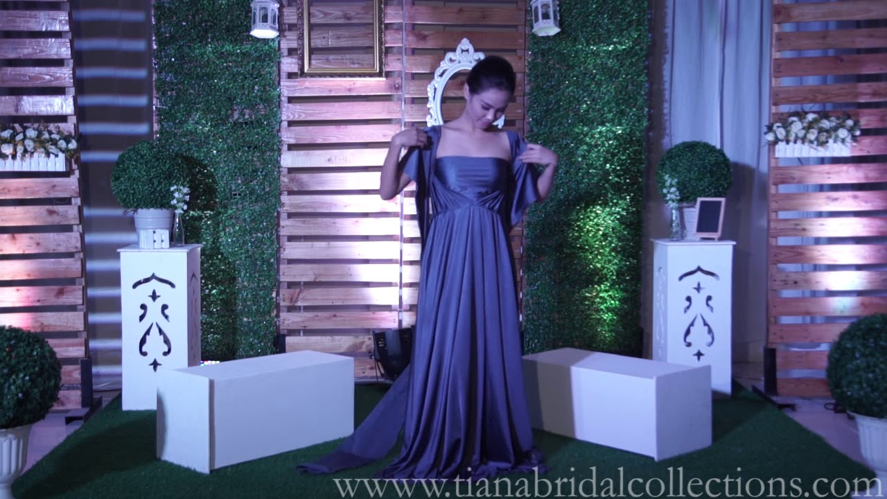 4da4adad38 Infinity Dress Shop Ph Hazel Violet TianaBridalCollections - YouTube