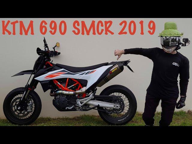 CE QUE JE DETESTE SUR MA KTM 690 SMCR 2019
