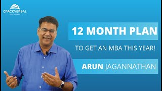 A Detailed 12 Month Plan To Get an MBA This Year!