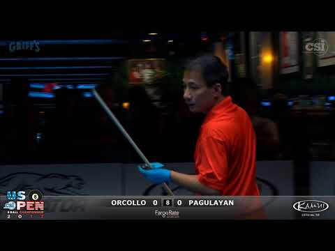 2017 US Open 8-Ball: Orcollo vs Pagulayan