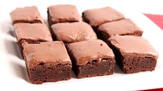 Glazed Chewy Brownies Recipe - Laura Vitale - Laura In The Kitchen Episode 946