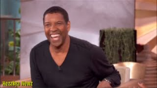 Denzel Washington Does Jay-Z IMPERSONATION On Queen Latifah Show