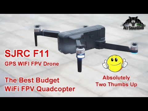 Фото SJRC F11 Brushless Selfie GPS RC Drone 5G WiFi FPV 1080P Camera Follow Me