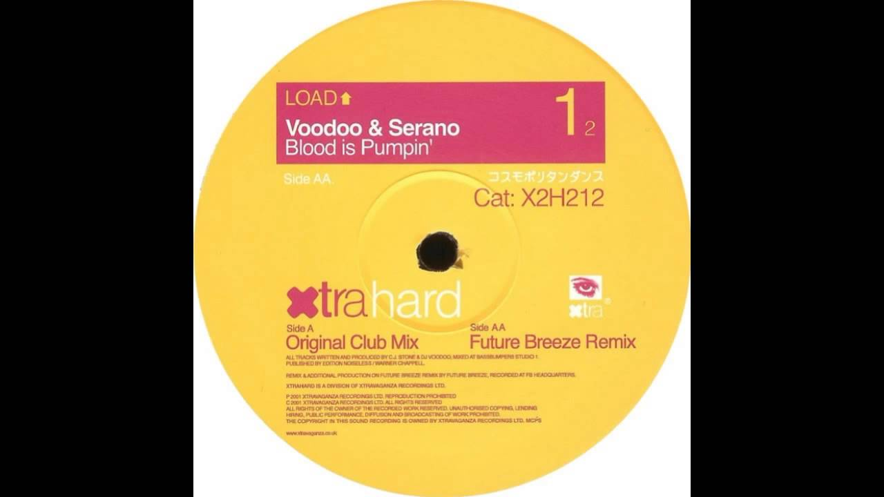 voodoo and serano blood is pumping