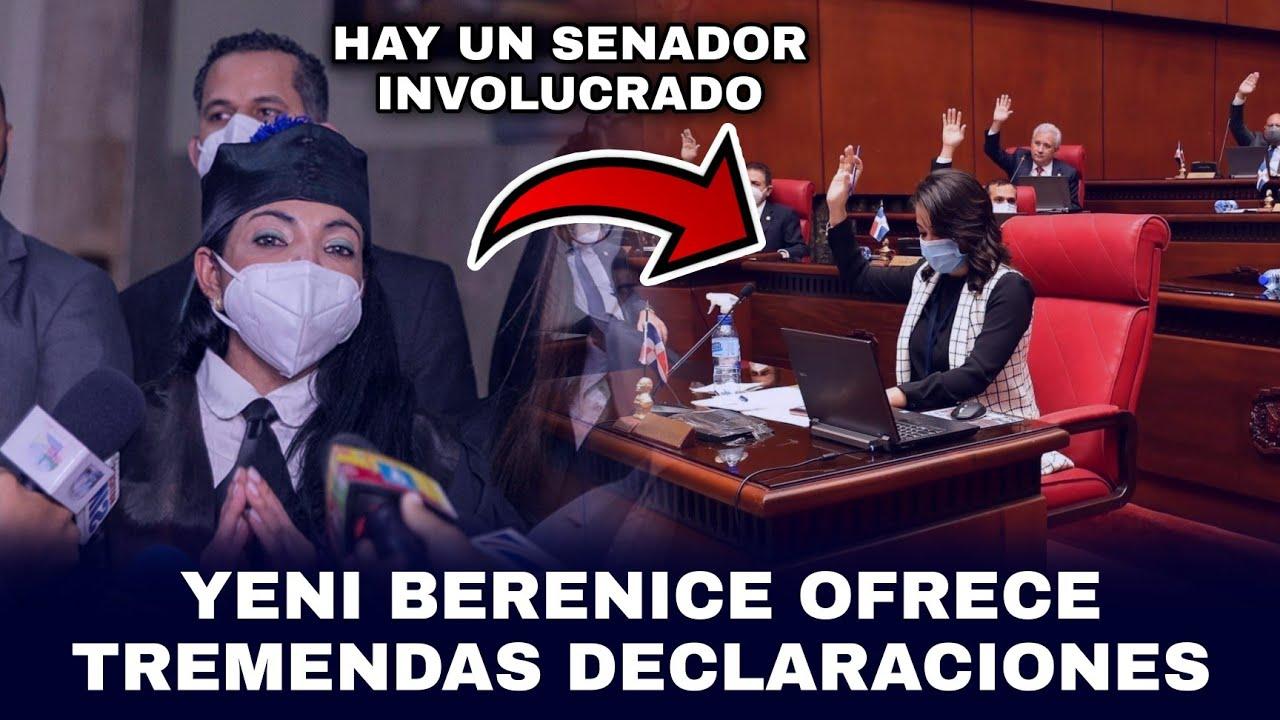 📌 ¡INCREÍBLE! YENI BERENICE REVELA QUE HAY 1 SENADOR Y 5 DIPUTADOS MÁS INVOLUCRADOS EN CASO FALCÓN 😳