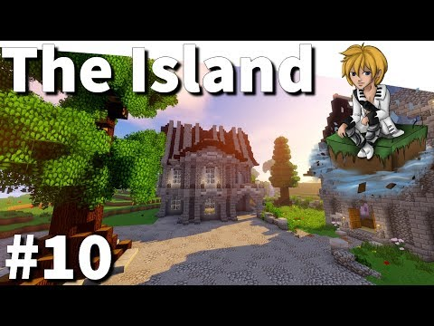 MINECRAFT : THE ISLAND - #10 Centre-Ville !