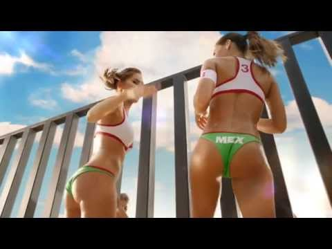 Carl's Jr  hot girls sexy Commercial