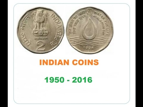 Indian coins 1950 TO 2016