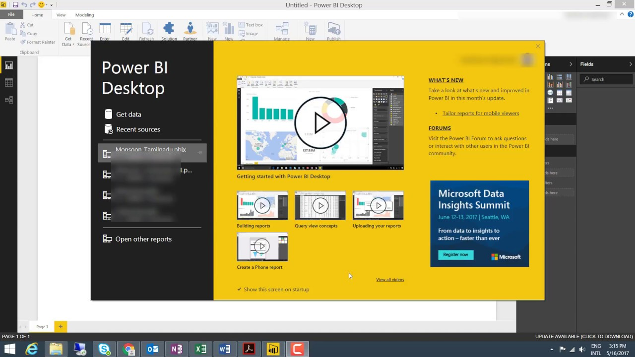How to use Power BI Desktop - Tutorial Power BI - YouTube