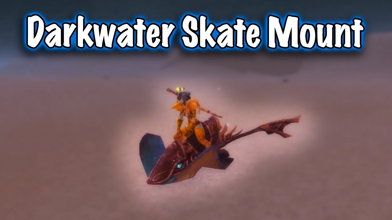 wow how to get a water walking mount