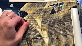 Живой процесс вышивки 28
