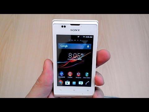 Sony Xperia E C1505 распаковка и мини обзор. Смарт по цене кнопочной звонилки.