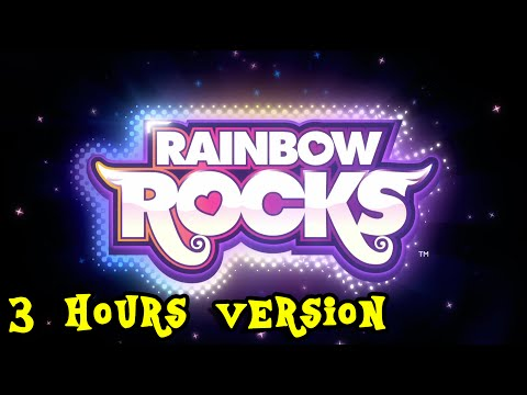 """MLP:EQG - """"Rainbow Rocks"""" (3 hours extended version)(HQ)"""