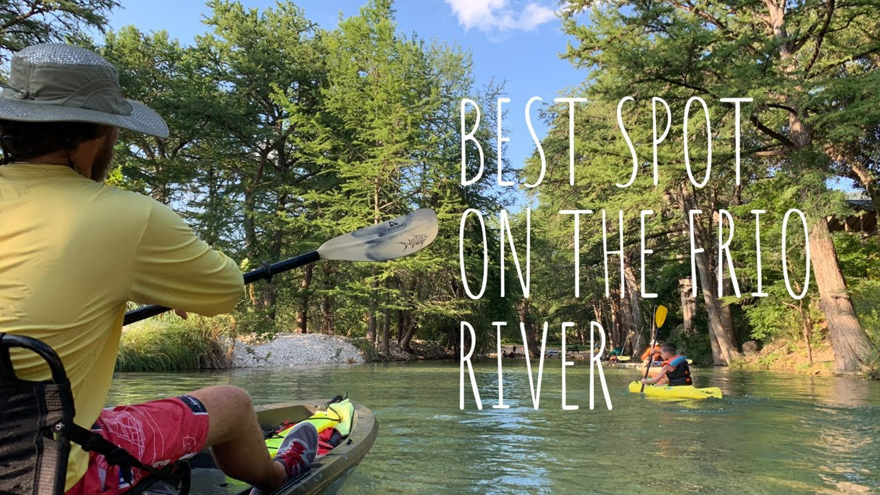 Best Place To Camp On The Frio River - Family Reunion ...
