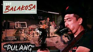 Gambar cover Iksan Skuter - Pulang   TOUR BALAKOSA SOLO 2019 (Lyrics)