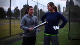 npf players swing the 2014 demarini cf6 insane fastpitch bat