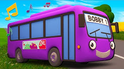 The Best of Wheels on the Bus | Nursery Rhymes & Kids Songs | Gecko's Garage | Bus Videos For Kids