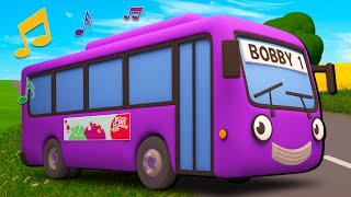 Download Lagu The Best of Wheels on the Bus | Nursery Rhymes & Kids Songs | Gecko's Garage | Bus Videos For Kids mp3