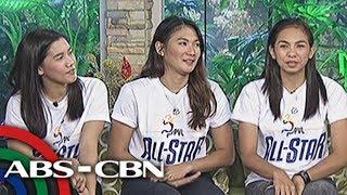 UKG: Volleyball stars Jia Morado, Cesca Raqraquin, and Nicole Tiamzon promote PVL All Star