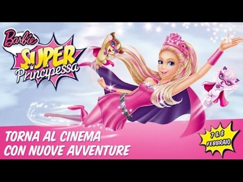 Barbie Super Principessa 2015 Italiano Cartoni Animati Youtube
