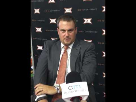 Tom Herman Texas Longhorns head coach on finally being able to move out of Major Applewhite