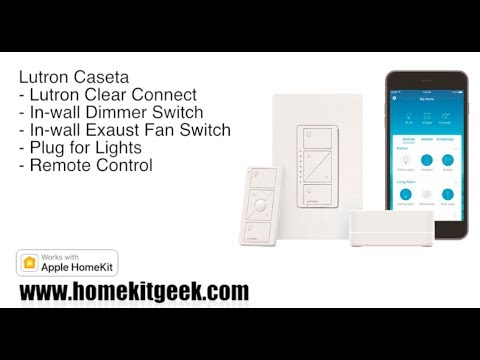 Lutron Caseta with Apple HomeKit Review