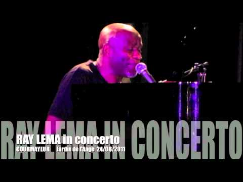 RAY LEMA- Medley al piano live il 24/08/2011 a Courmayeur