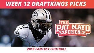 2019 Fantasy Football Rankings — NFL Week 12 DraftKings Picks, Predictions, Preview, Sleepers
