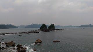 双名島へ続く道、高知県道320号をドライブ #72