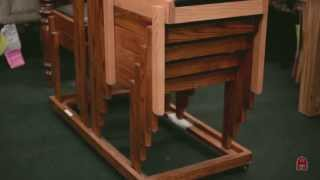 Barn Furniture - Boston Stacking Chairs