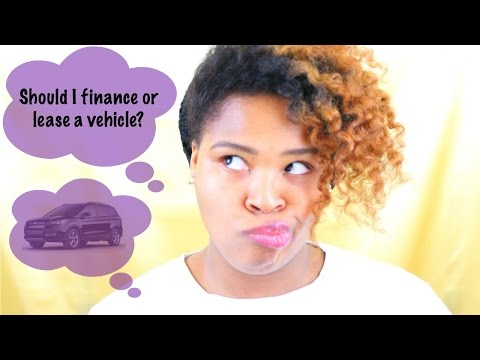 How To Lease or Finance A Car