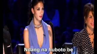 melanie amaro singing beyonce's  listen  x factor Batak Version 51m50n