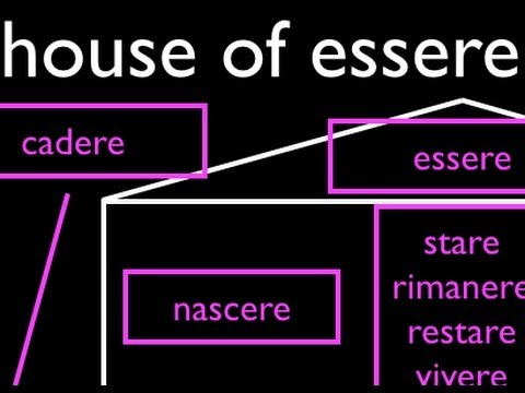 When to Use Essere in Forming the Passato Prossimo