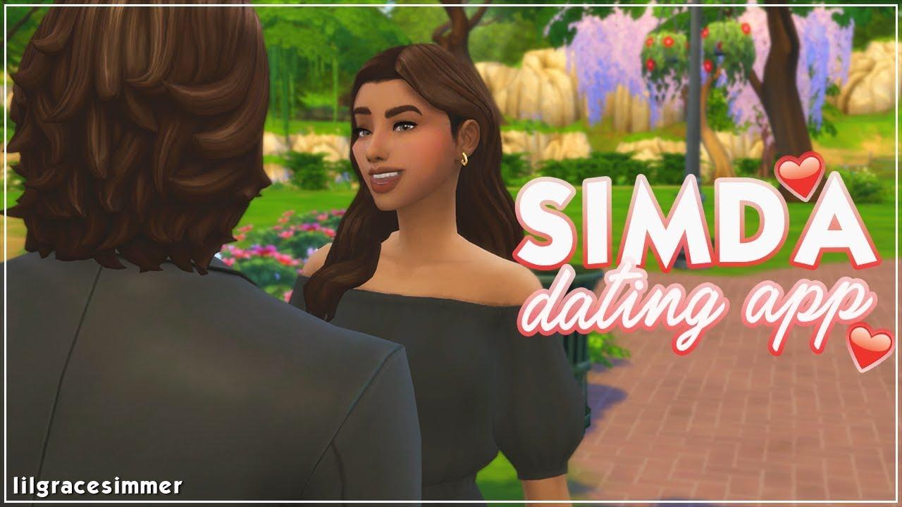 simda dating app sims 4