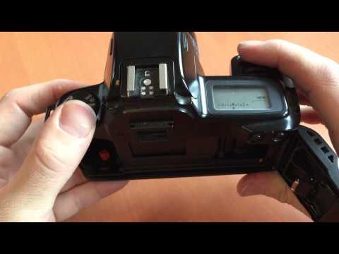 Canon Eos 1000 F- Testbericht Anleitung zu der analogen Spiegelreflexkamera