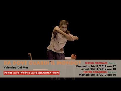 """""""Da Dove Guardi Il Mondo?"""" Di  Valentina Dal Mas // ALTRE DANZE_portiamo I Ragazzi A Teatro!"""