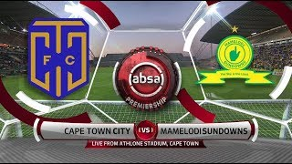 Absa Premiership 2018/19 | Cape Town City vs Mamelodi Sundowns
