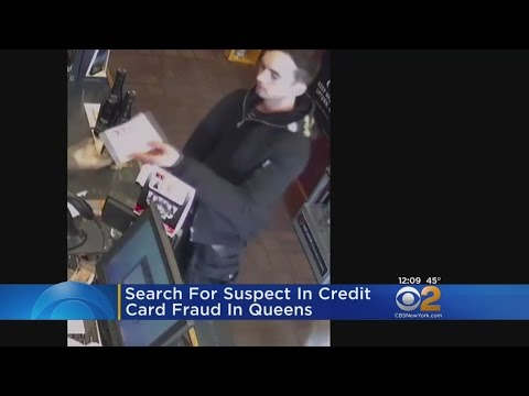 Search For Suspect In Using Lost Credit Card