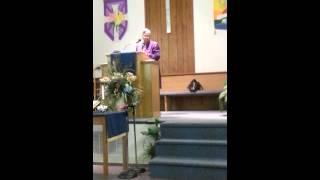 Apostle Mary D.McKenzie 9/01/14