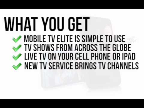 Watch Live TV On Mobile Phone - Live Streaming TV On Your Cell Phone - Live Sports - Live TV Shows