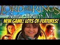 NEW SLOT! LORD OF THE RINGS RULE THEM ALL-LOTS OF FEATURES