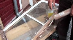 Uula ja maalaamisen taito - ikkunan kunnostus ja maalaus (osa 2)