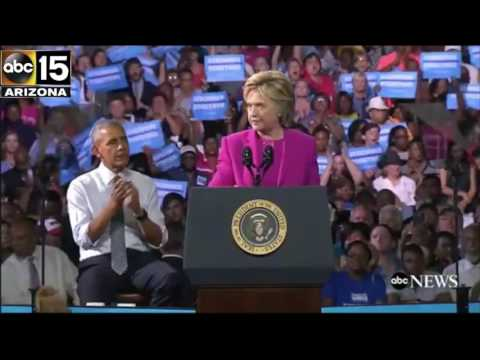 FULL SPEECH: Hillary Clinton & President Obama take on Donald Trump - Charlotte, North Carolina