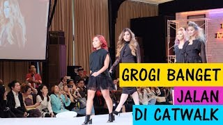 Makeover rambut jadi Color Melting + jalan di catwalk bareng Matrix Indonesia