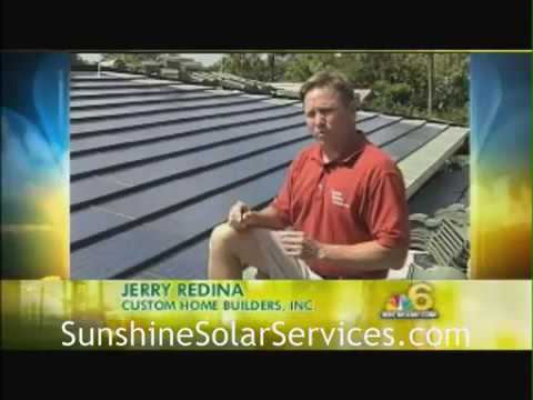 Solar Tile Installation  Sunshine Solar Services, Inc    YouTube 360p