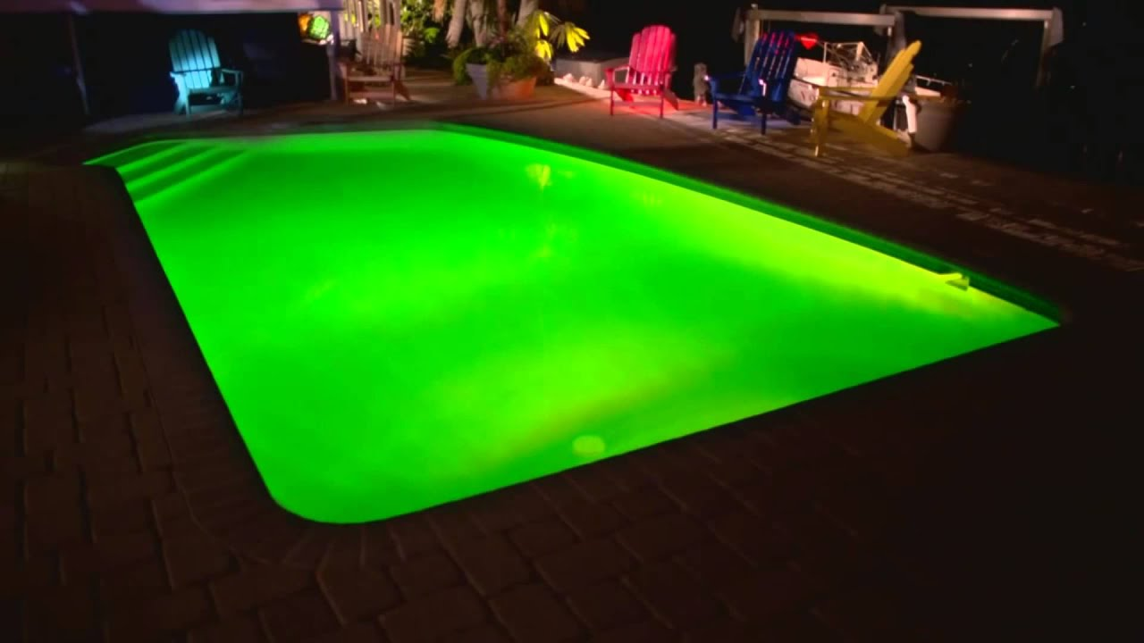 Fun floating lights in your backyard swimming pool - Premier ...